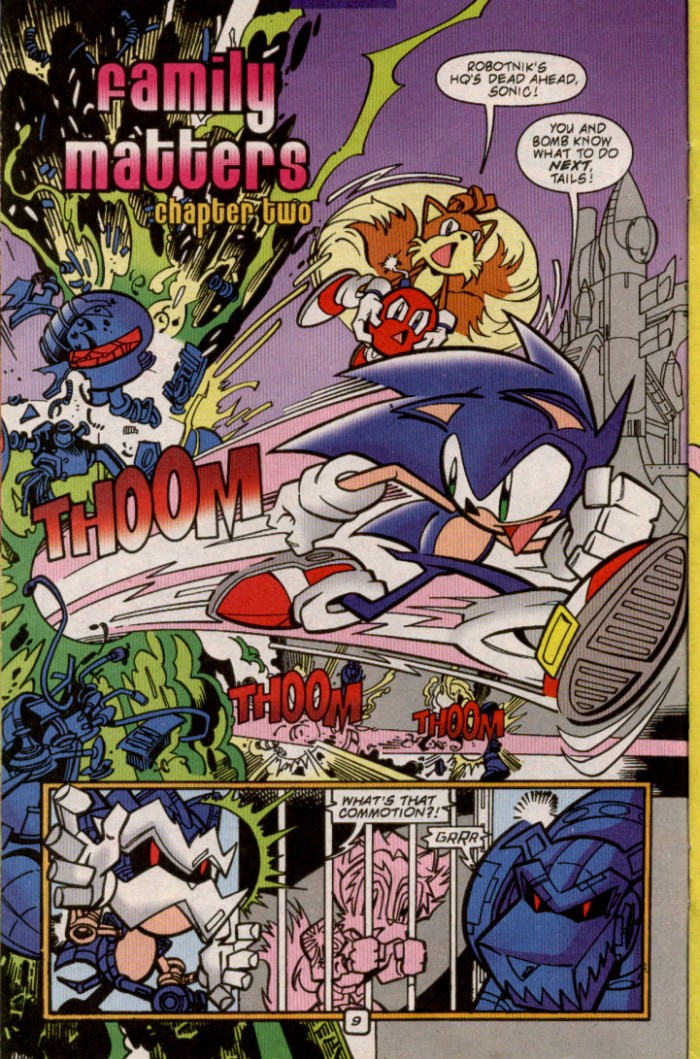 Sonic - Archie Adventure Series November 2000 Page 9