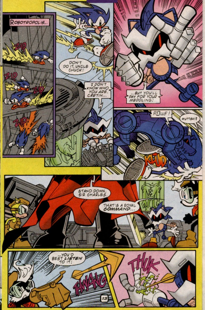 Sonic - Archie Adventure Series November 2000 Page 13