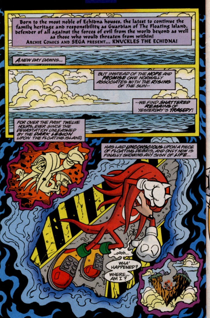 Sonic - Archie Adventure Series November 2000 Page 17