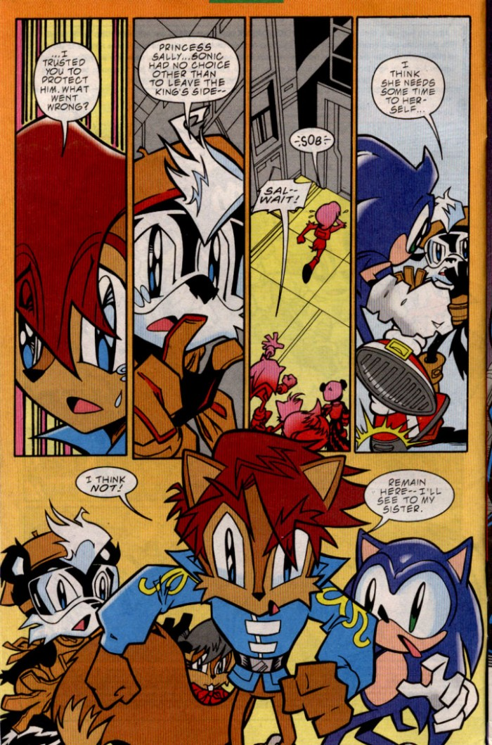 Sonic - Archie Adventure Series December 2000 Page 2