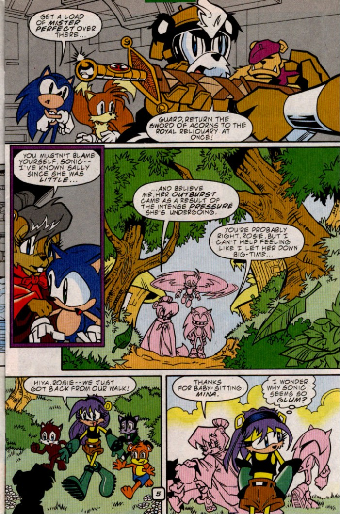 Sonic - Archie Adventure Series December 2000 Page 5