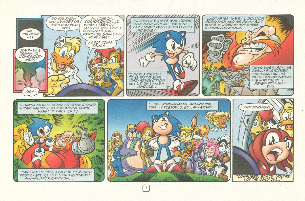 Sonic - Archie Adventure Series (Special) 2000a  Page 03