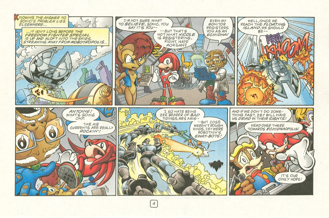 Sonic - Archie Adventure Series (Special) 2000a  Page 06