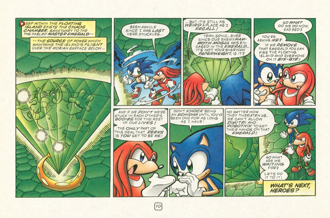 Sonic - Archie Adventure Series (Special) 2000a  Page 12