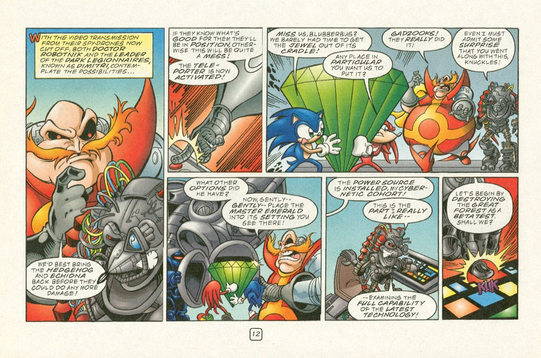 Sonic - Archie Adventure Series (Special) 2000a  Page 14