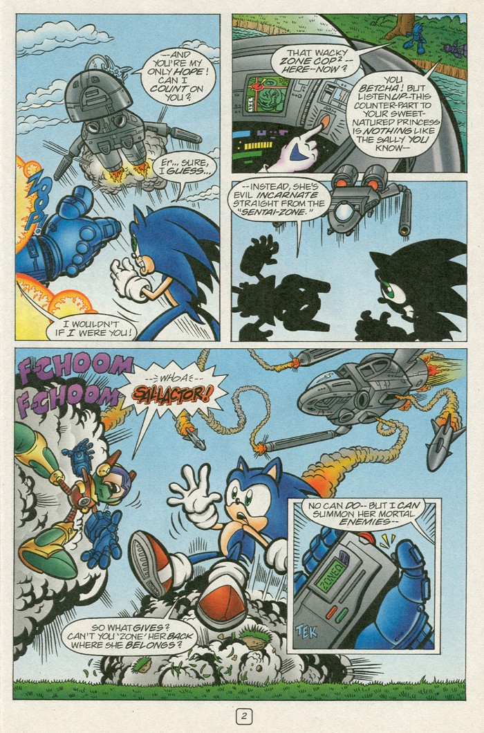 Sonic - Archie Adventure Series (Special) 2000a  Page 18