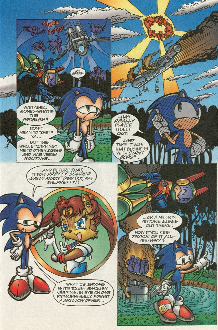Sonic - Archie Adventure Series (Special) 2000a  Page 20