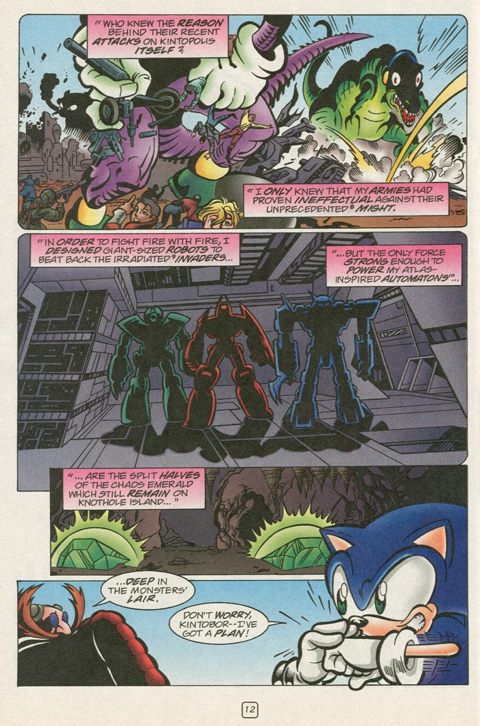 Sonic - Archie Adventure Series (Special) 2000a  Page 28