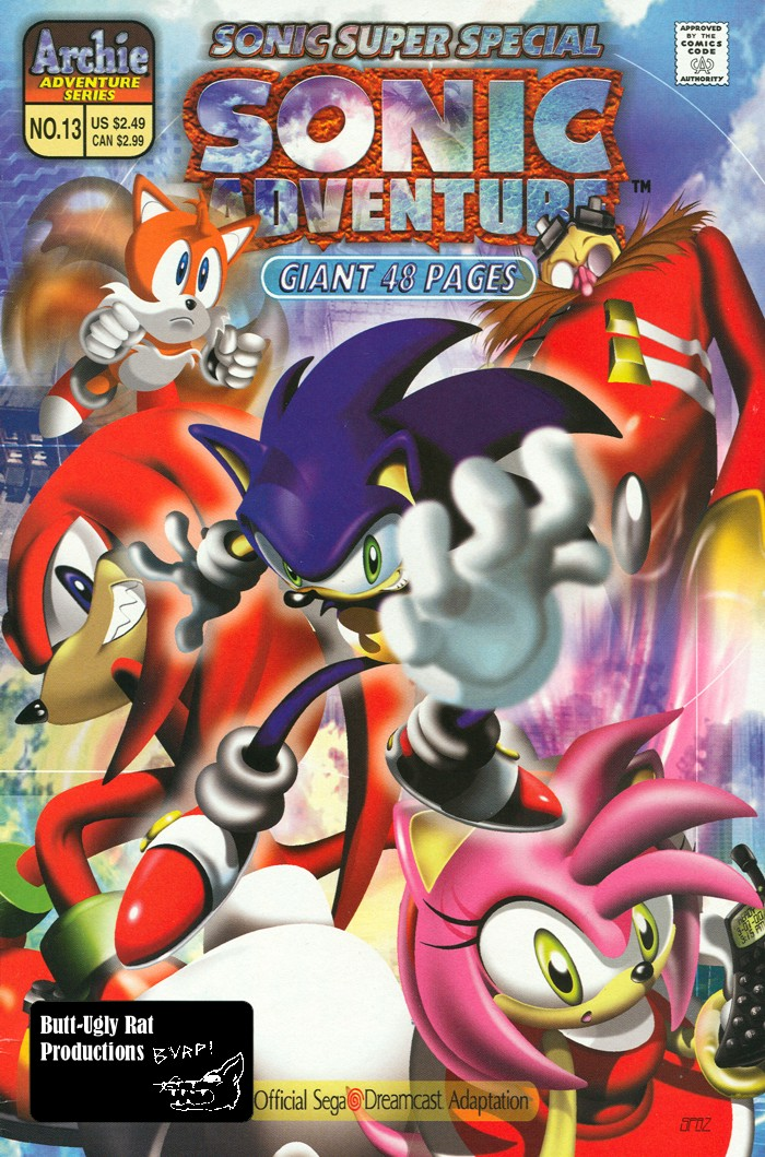 Sonic - Archie Adventure Series (Special) 2000b  Comic cover page