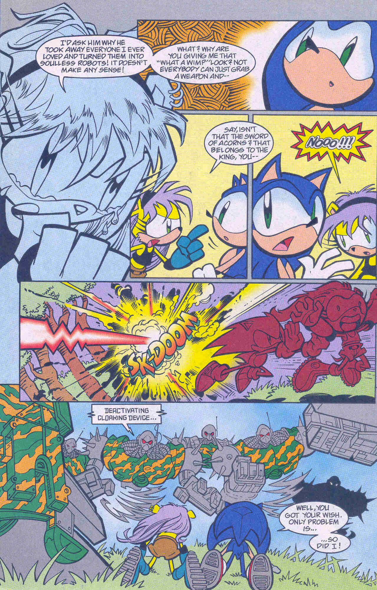 Sonic - Archie Adventure Series January 2001 Page 03