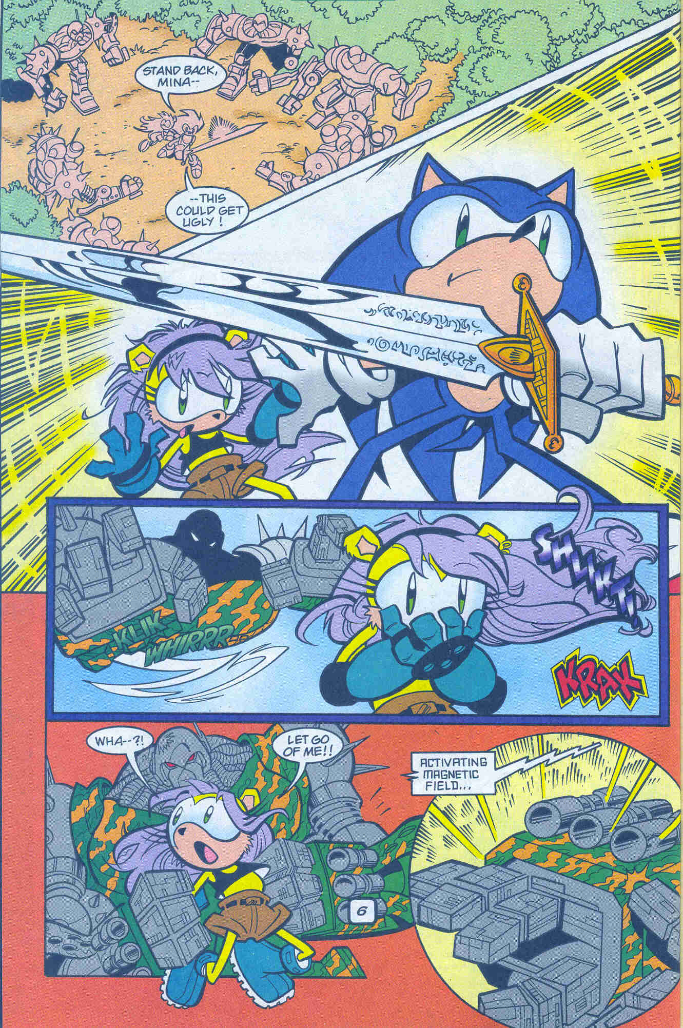 Sonic - Archie Adventure Series January 2001 Page 06