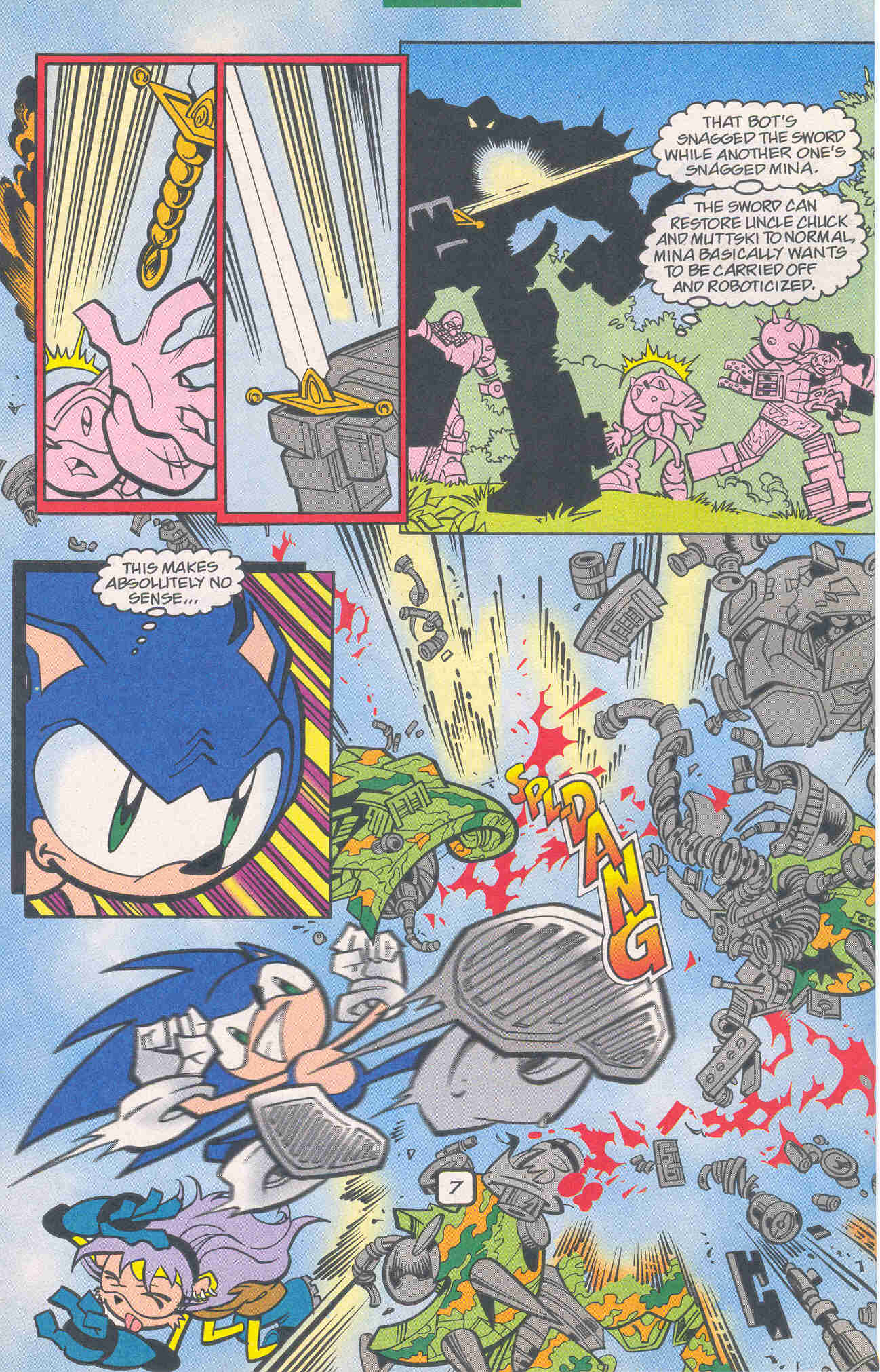 Sonic - Archie Adventure Series January 2001 Page 07