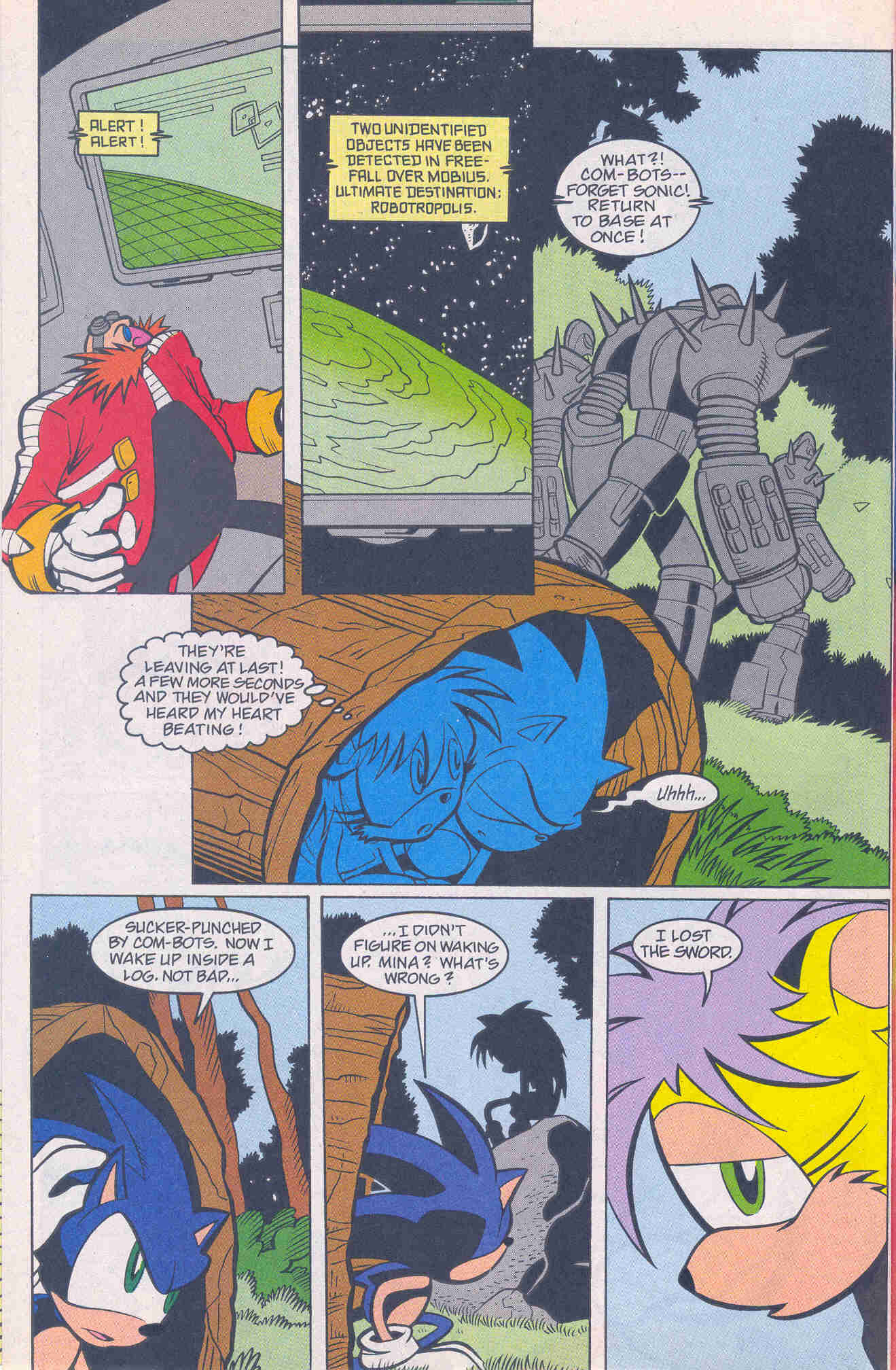 Sonic - Archie Adventure Series January 2001 Page 11