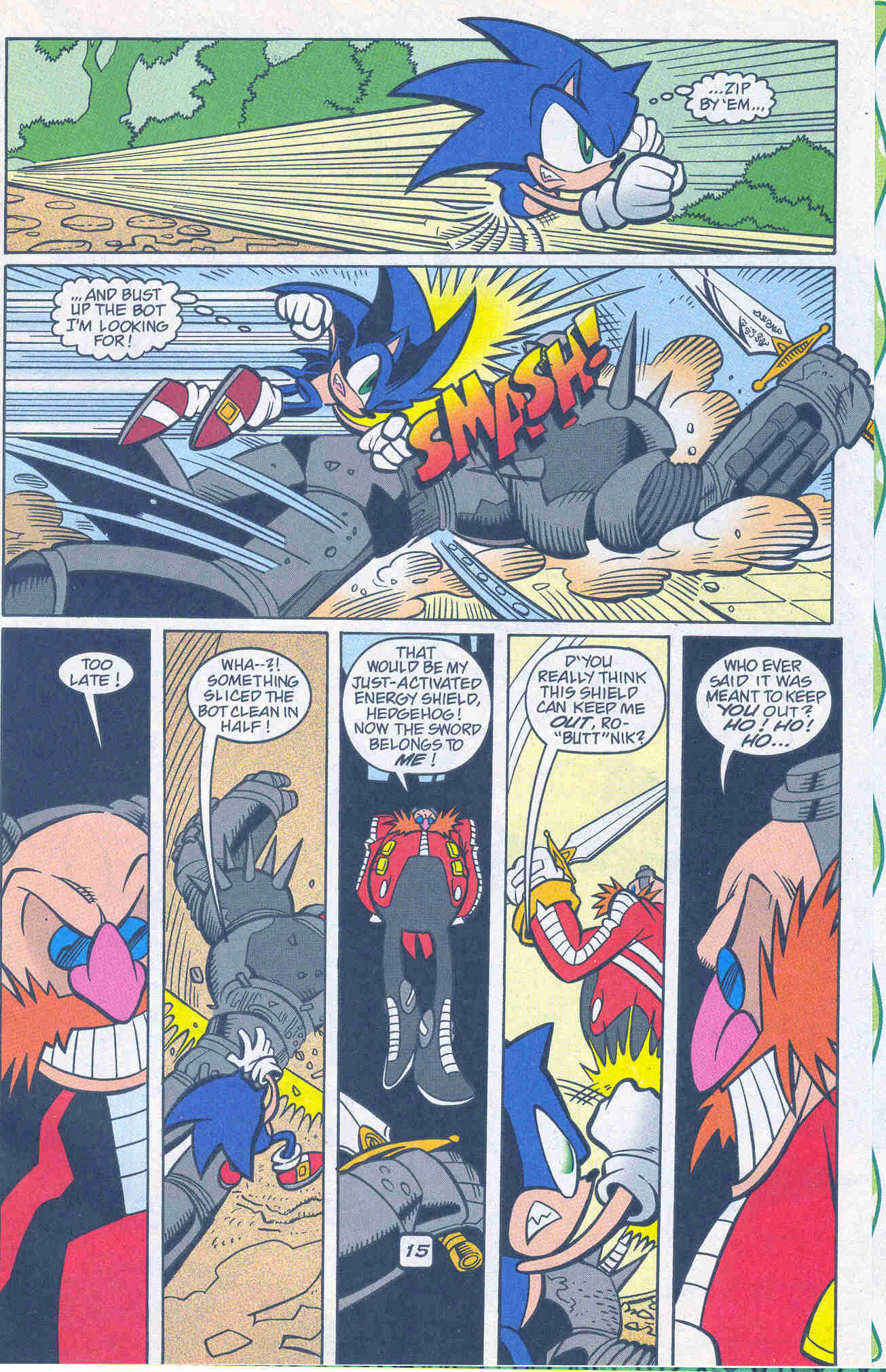 Sonic - Archie Adventure Series January 2001 Page 14