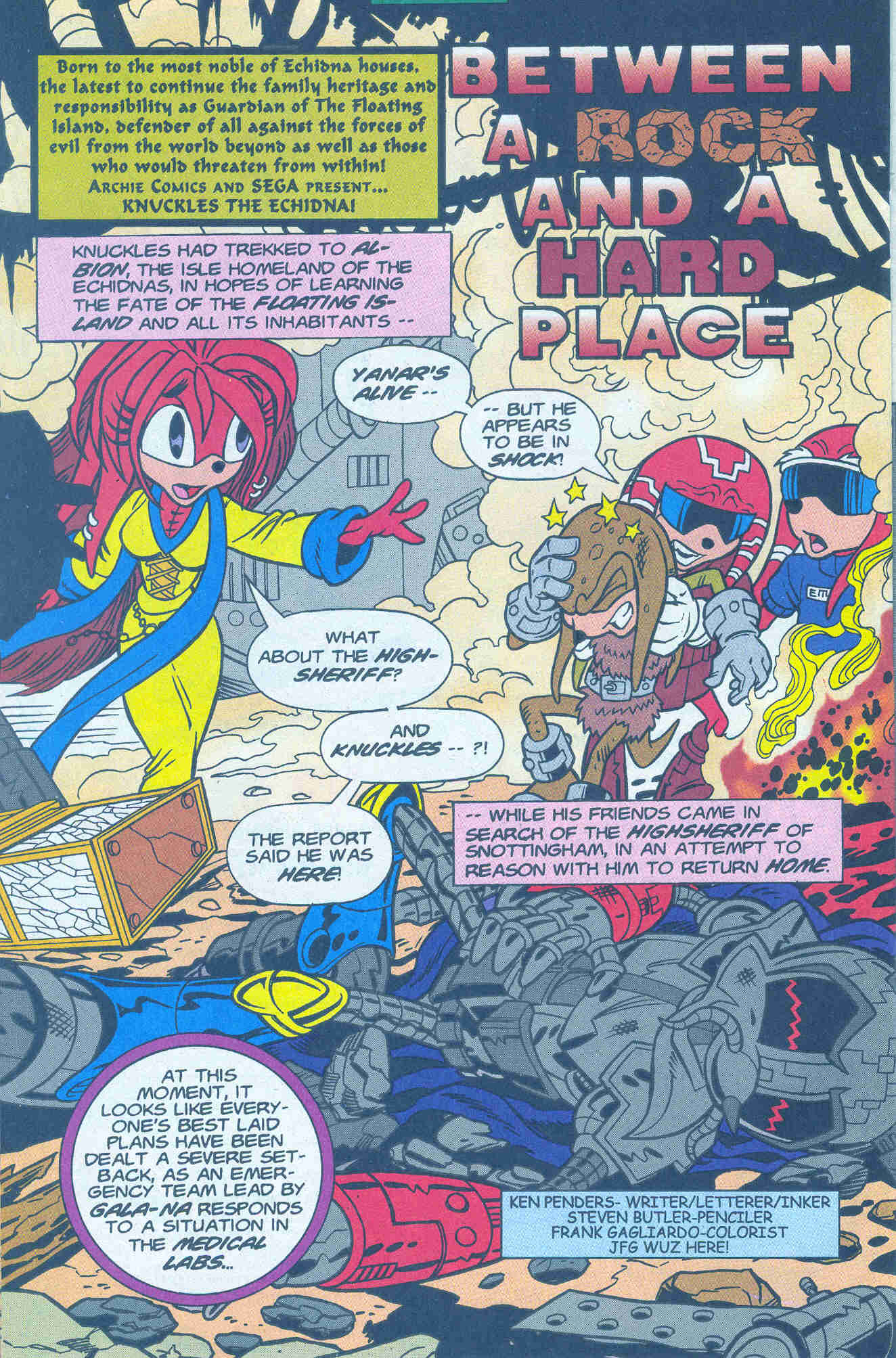 Sonic - Archie Adventure Series January 2001 Page 16
