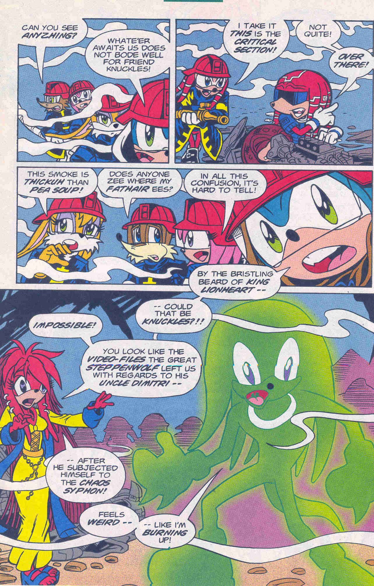 Sonic - Archie Adventure Series January 2001 Page 19