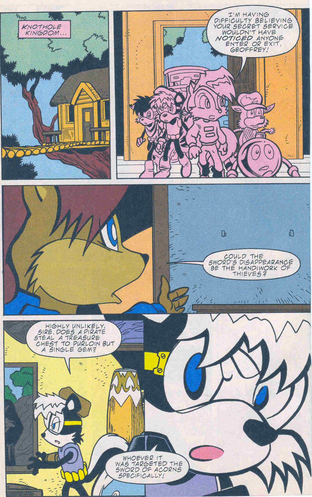 Sonic - Archie Adventure Series February 2001 Page 06