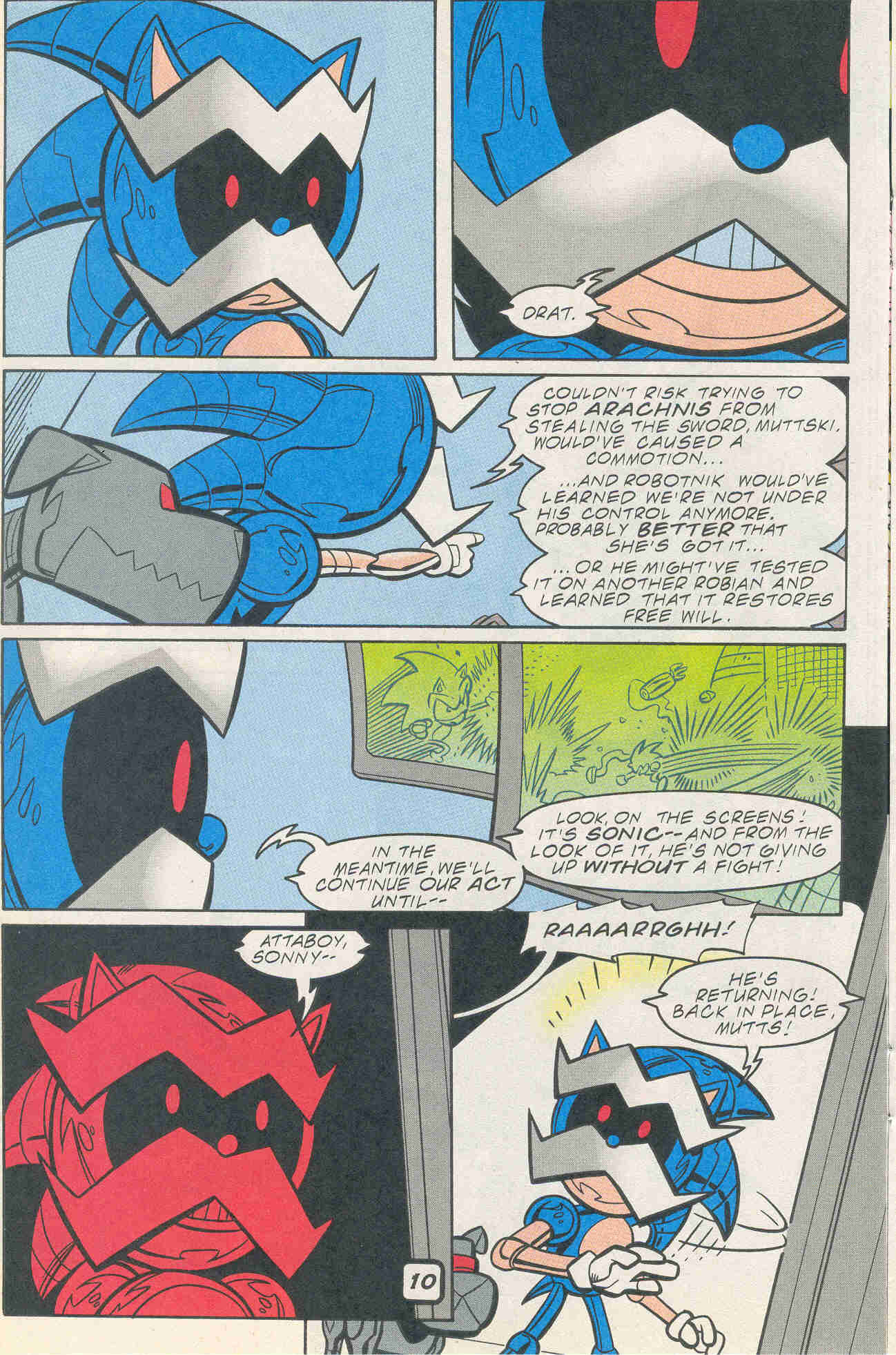 Sonic - Archie Adventure Series February 2001 Page 10