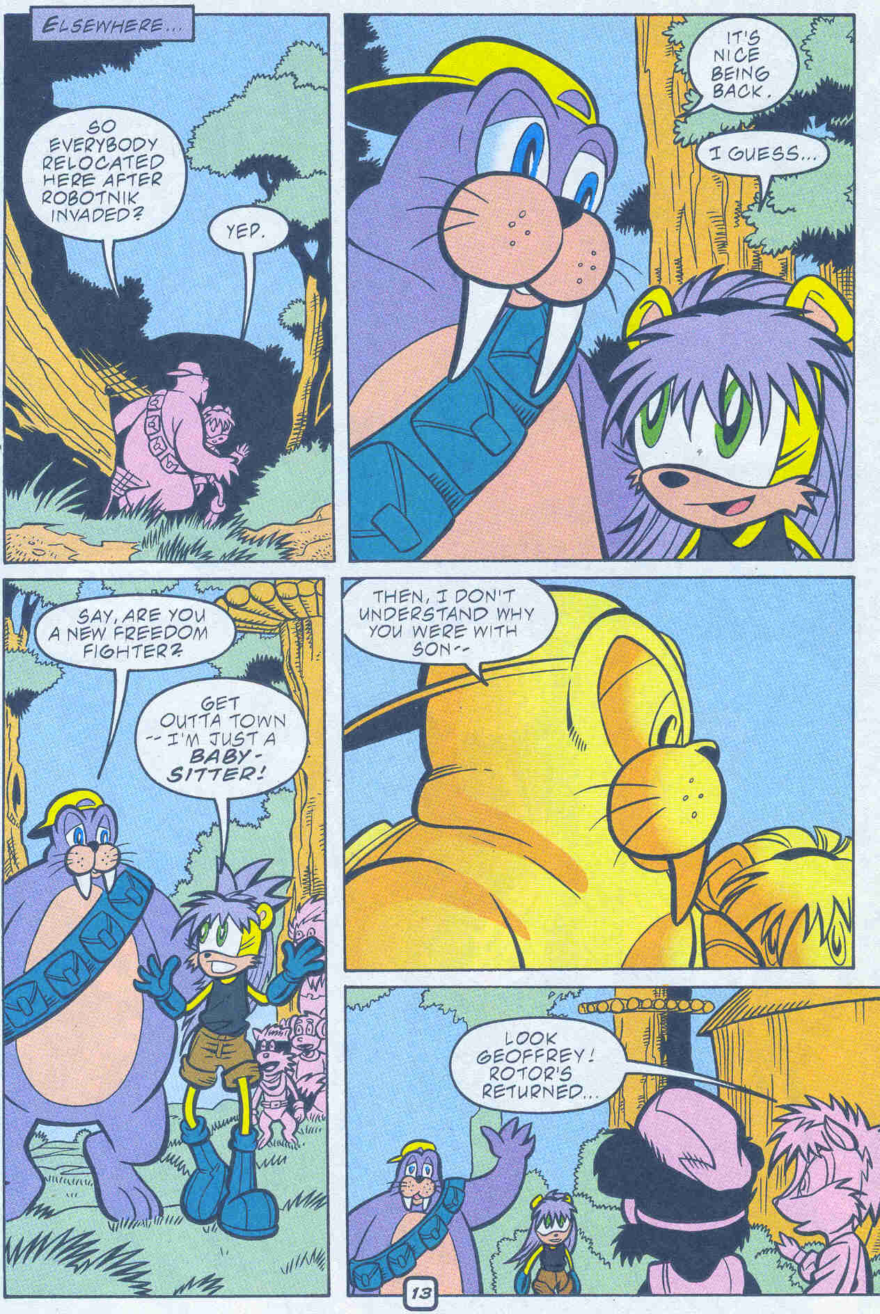 Sonic - Archie Adventure Series February 2001 Page 13