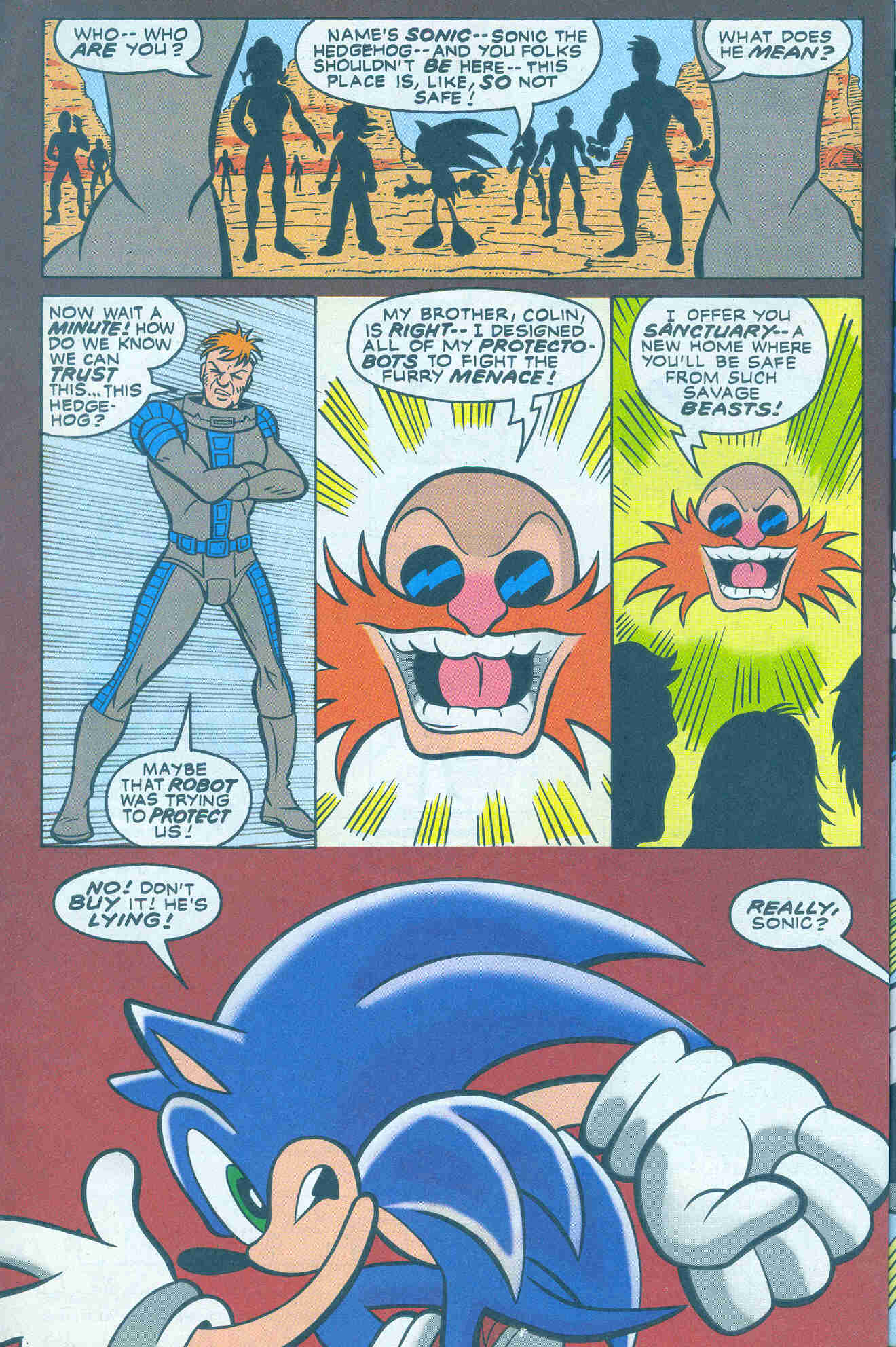 Sonic - Archie Adventure Series March 2001 Page 07