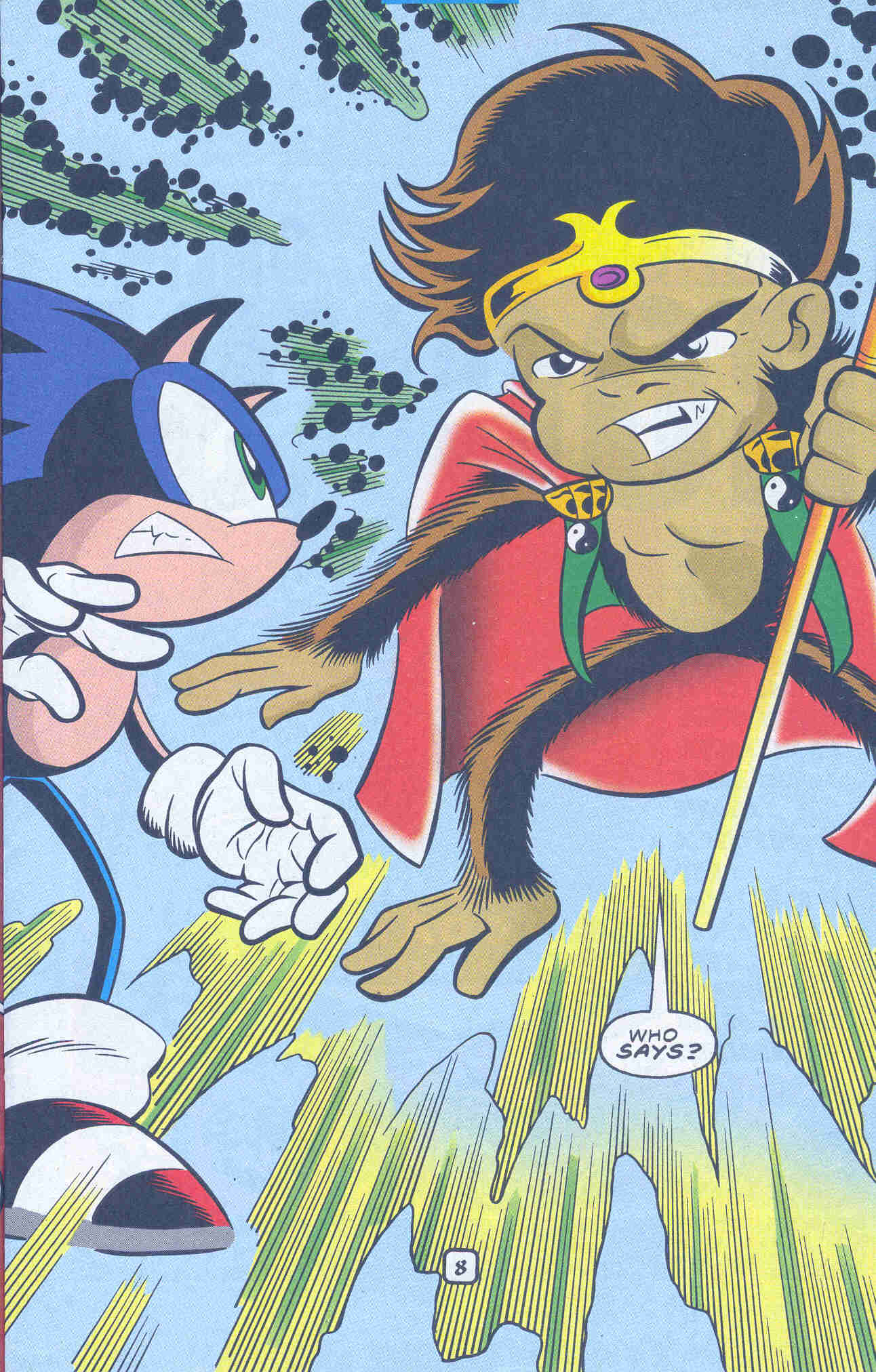 Sonic - Archie Adventure Series March 2001 Page 08