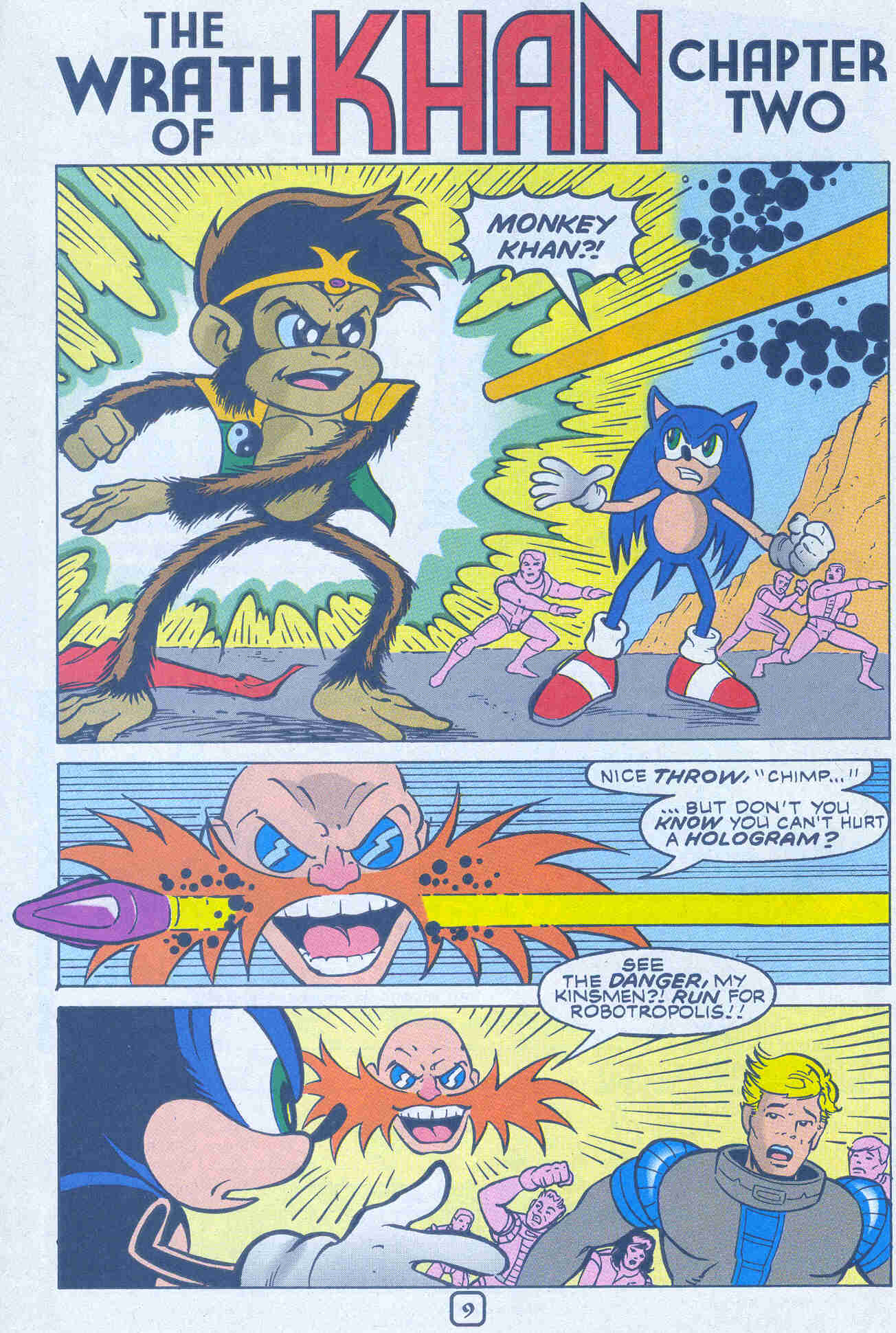 Sonic - Archie Adventure Series March 2001 Page 09