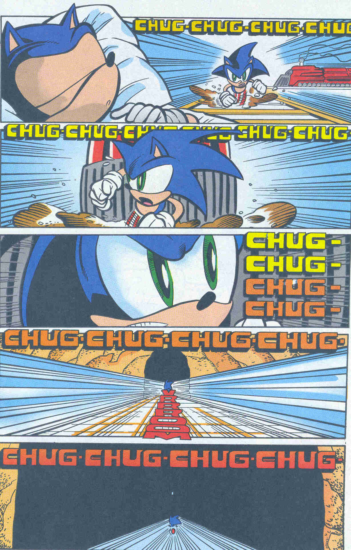 Sonic - Archie Adventure Series March 2001 Page 17
