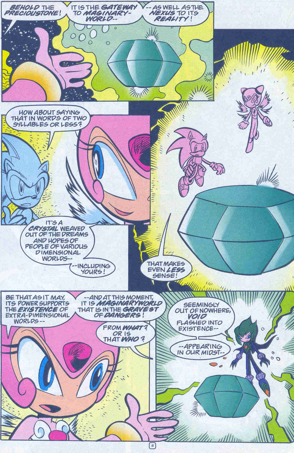 Sonic - Archie Adventure Series March 2001 Page 21