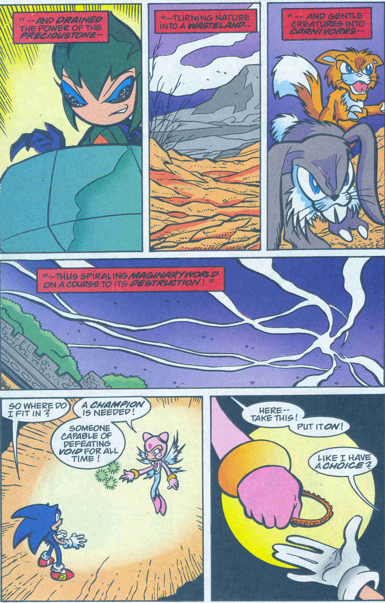 Sonic - Archie Adventure Series March 2001 Page 22