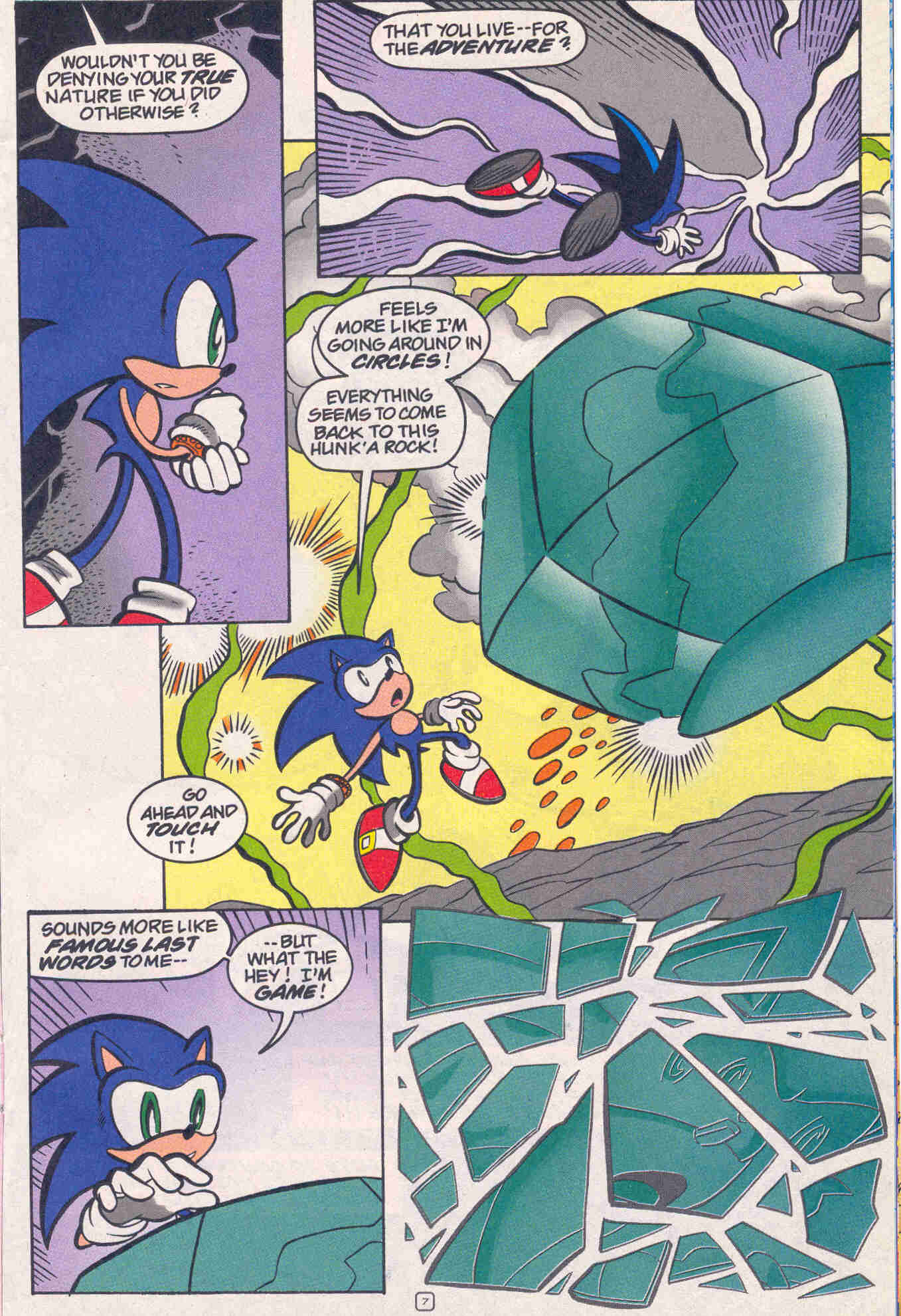 Sonic - Archie Adventure Series March 2001 Page 23