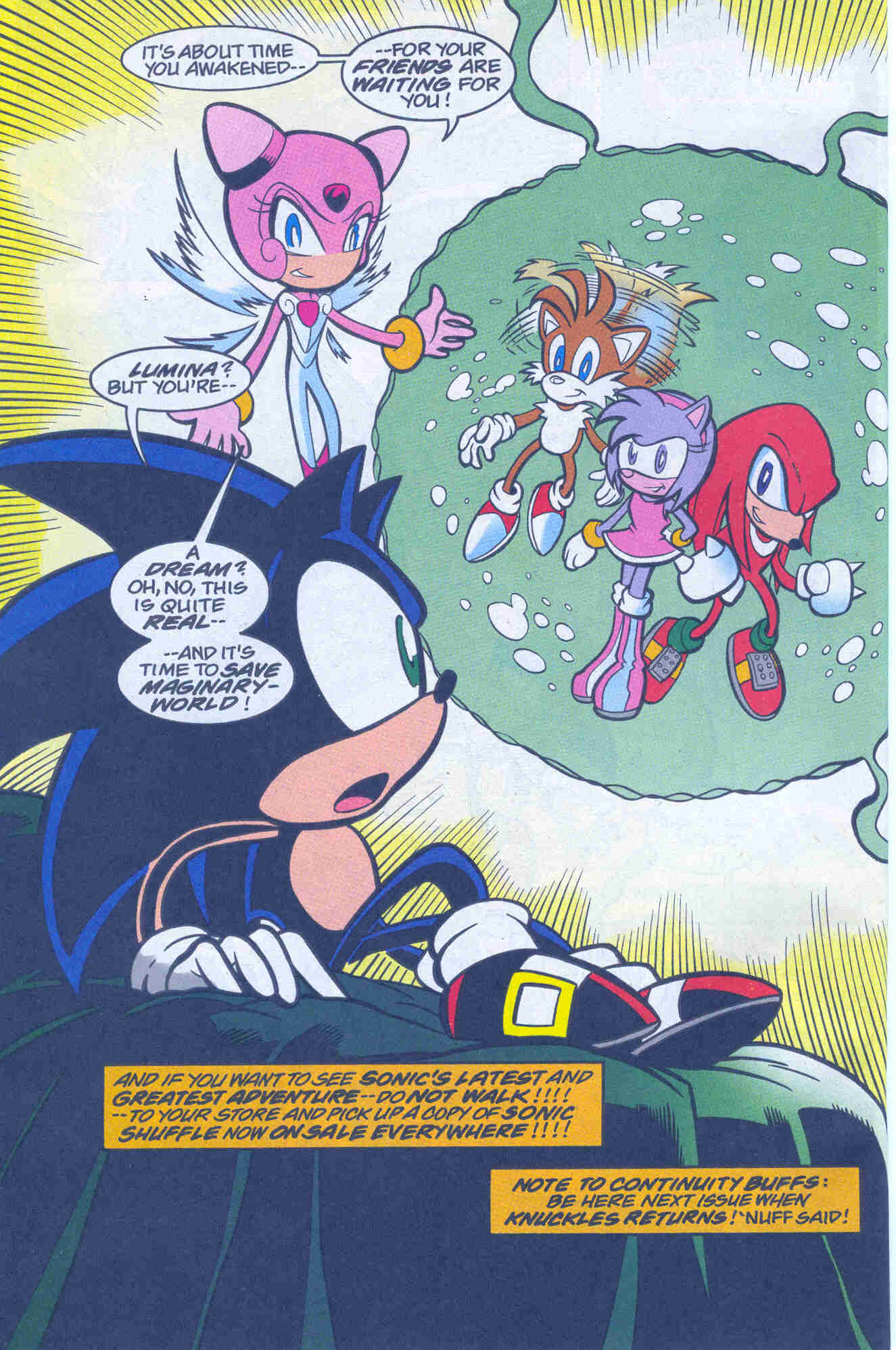 Sonic - Archie Adventure Series March 2001 Page 24