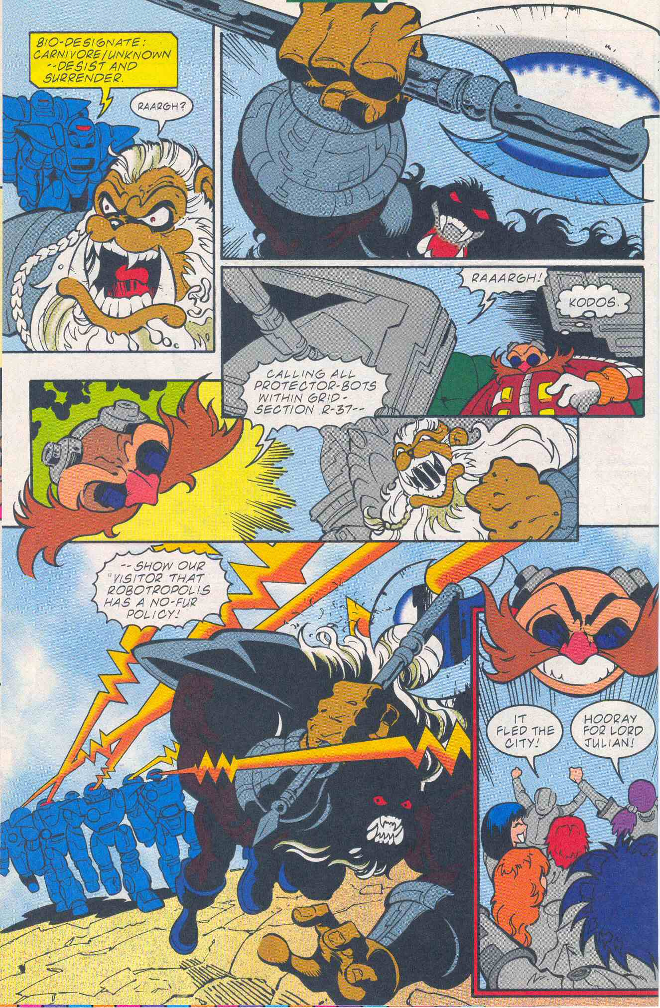 Sonic - Archie Adventure Series May 2001 Page 04