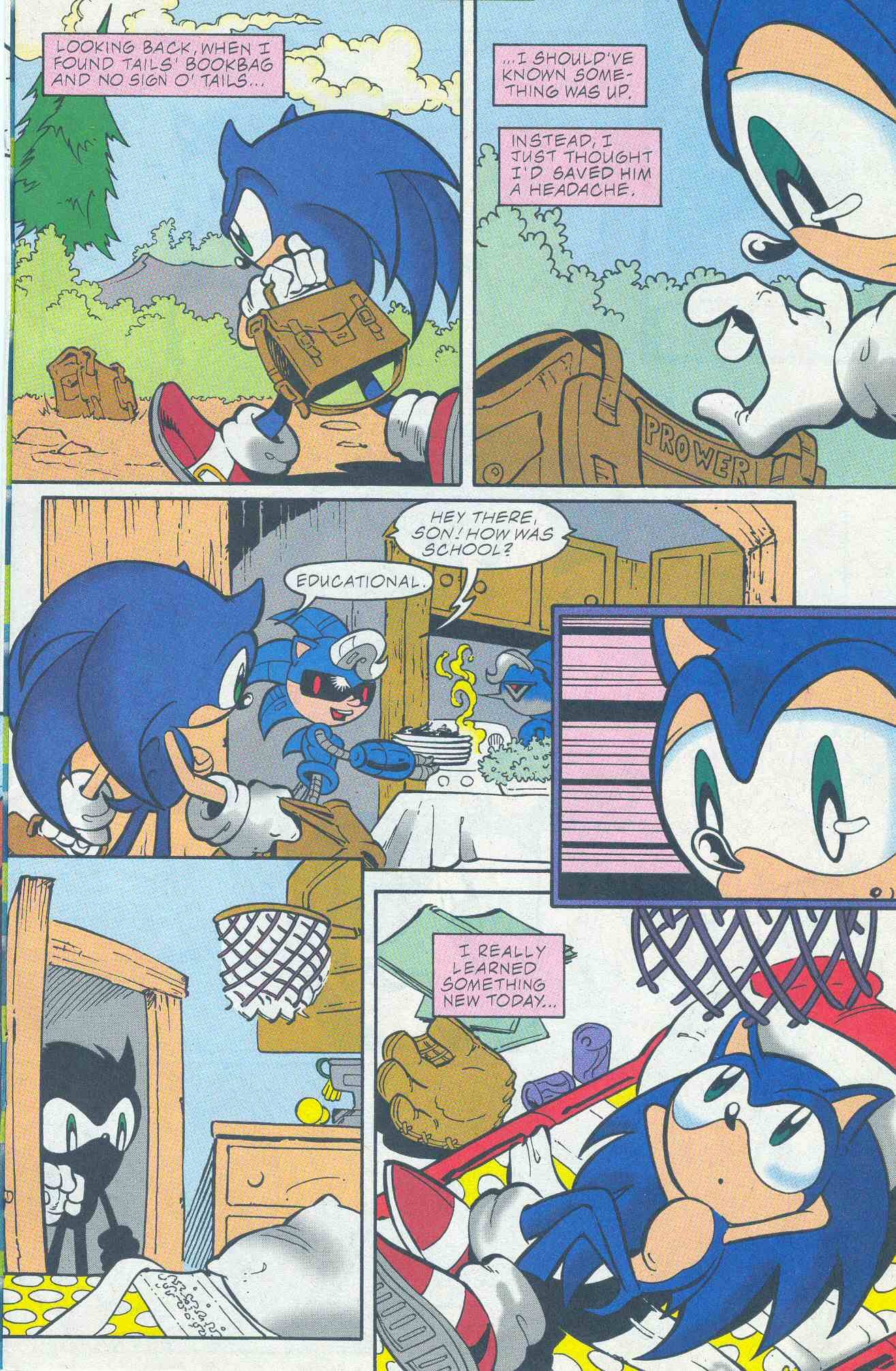 Sonic - Archie Adventure Series May 2001 Page 05