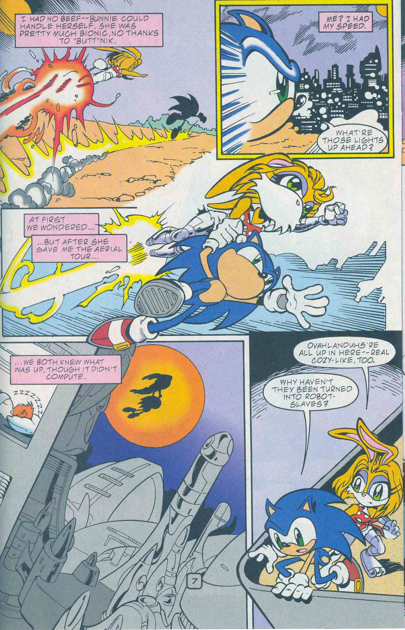 Sonic - Archie Adventure Series May 2001 Page 07