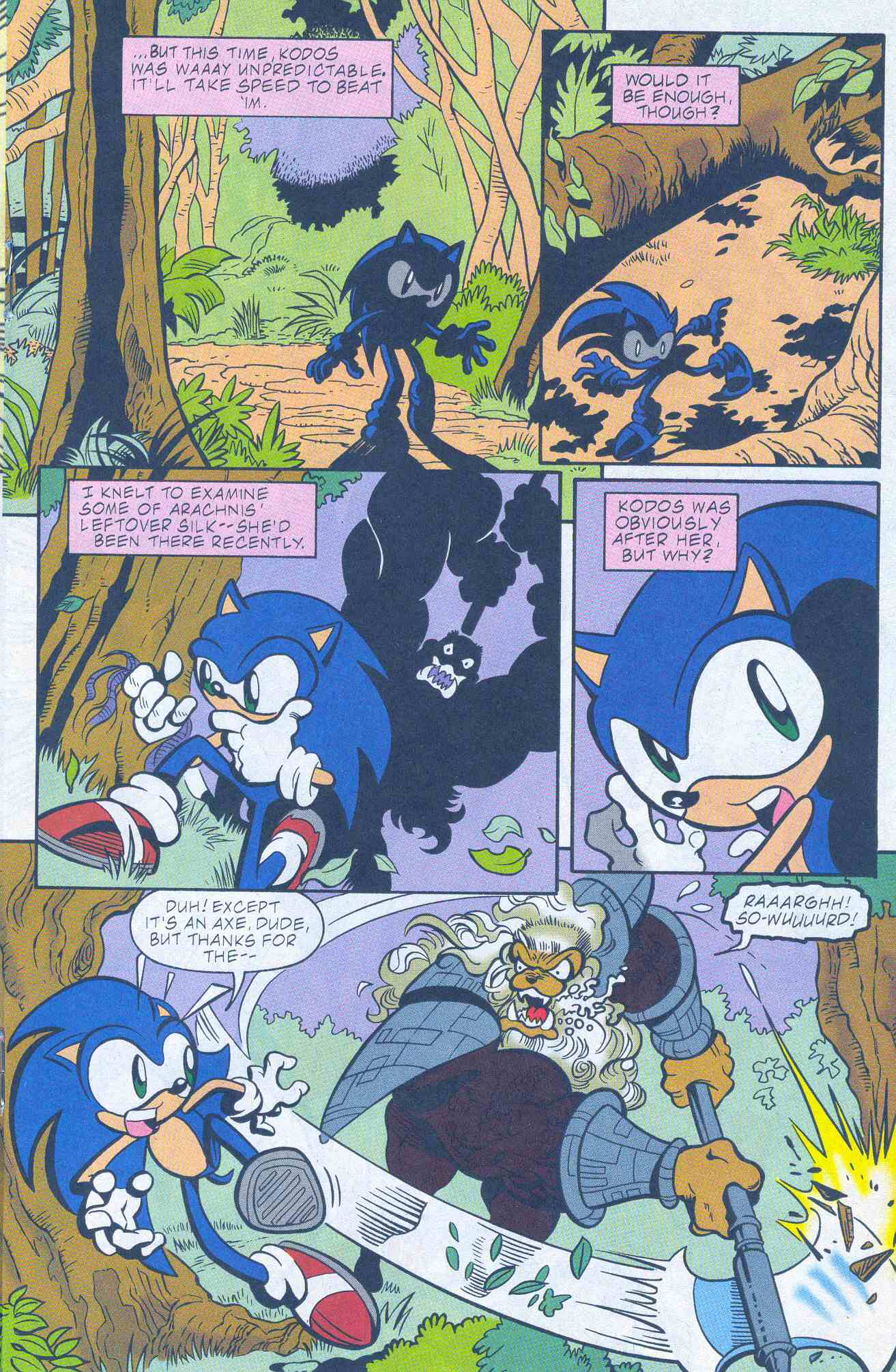 Sonic - Archie Adventure Series May 2001 Page 14