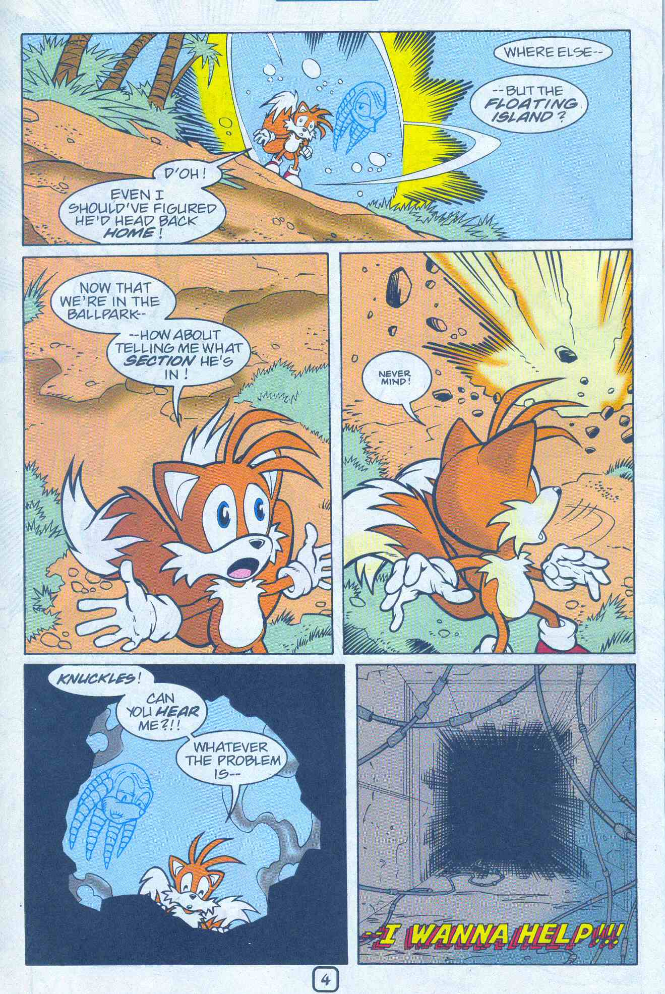 Sonic - Archie Adventure Series May 2001 Page 20