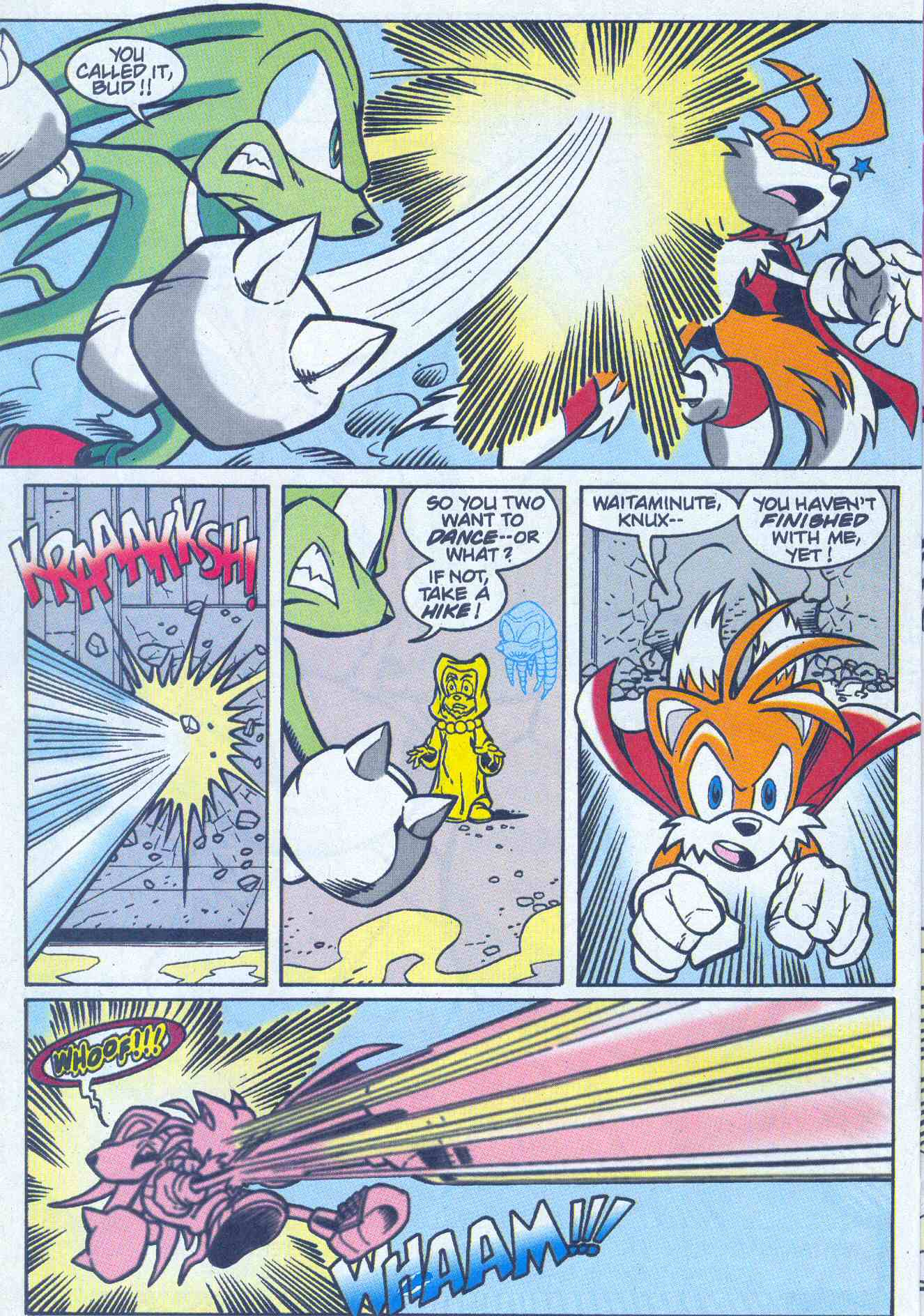 Sonic - Archie Adventure Series July 2001 Page 18