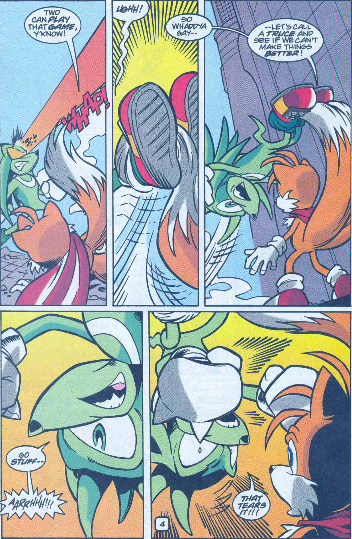 Sonic - Archie Adventure Series July 2001 Page 20