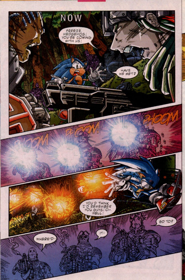 Sonic - Archie Adventure Series July 2001 Page 10
