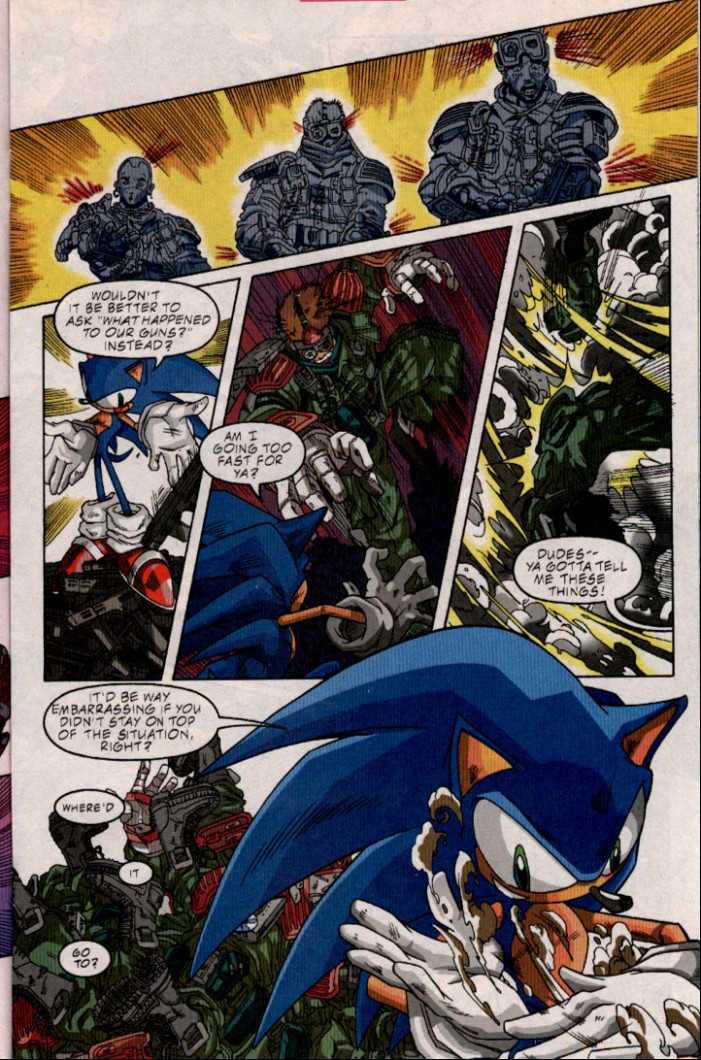 Sonic - Archie Adventure Series July 2001 Page 11