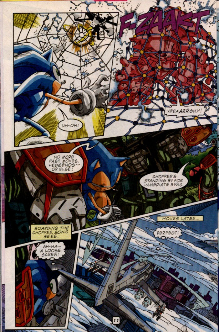 Sonic - Archie Adventure Series July 2001 Page 12