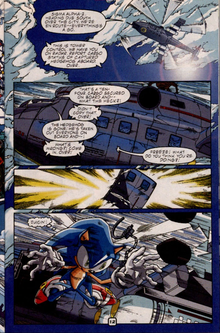 Sonic - Archie Adventure Series July 2001 Page 13