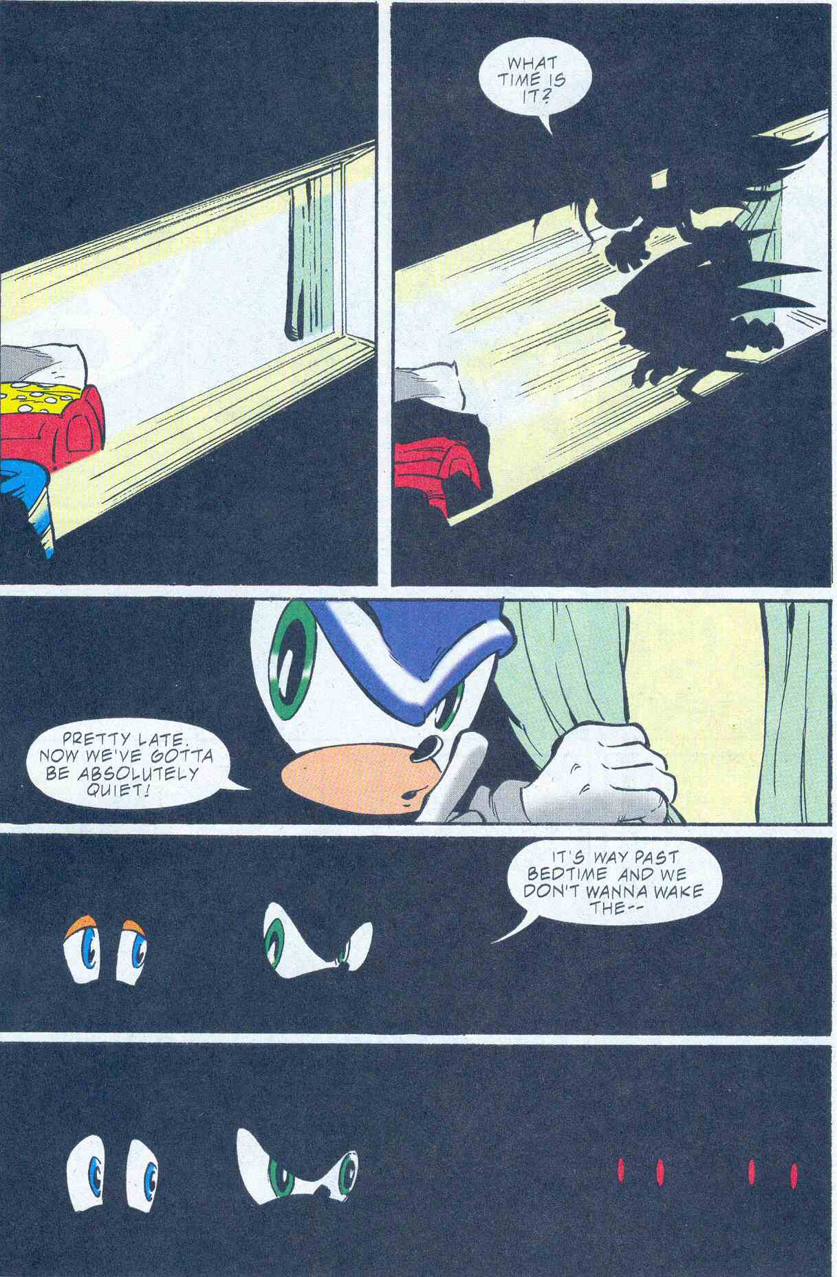 Sonic - Archie Adventure Series August 2001 Page 01