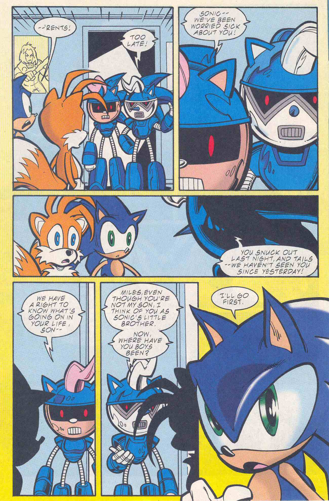 Sonic - Archie Adventure Series August 2001 Page 02