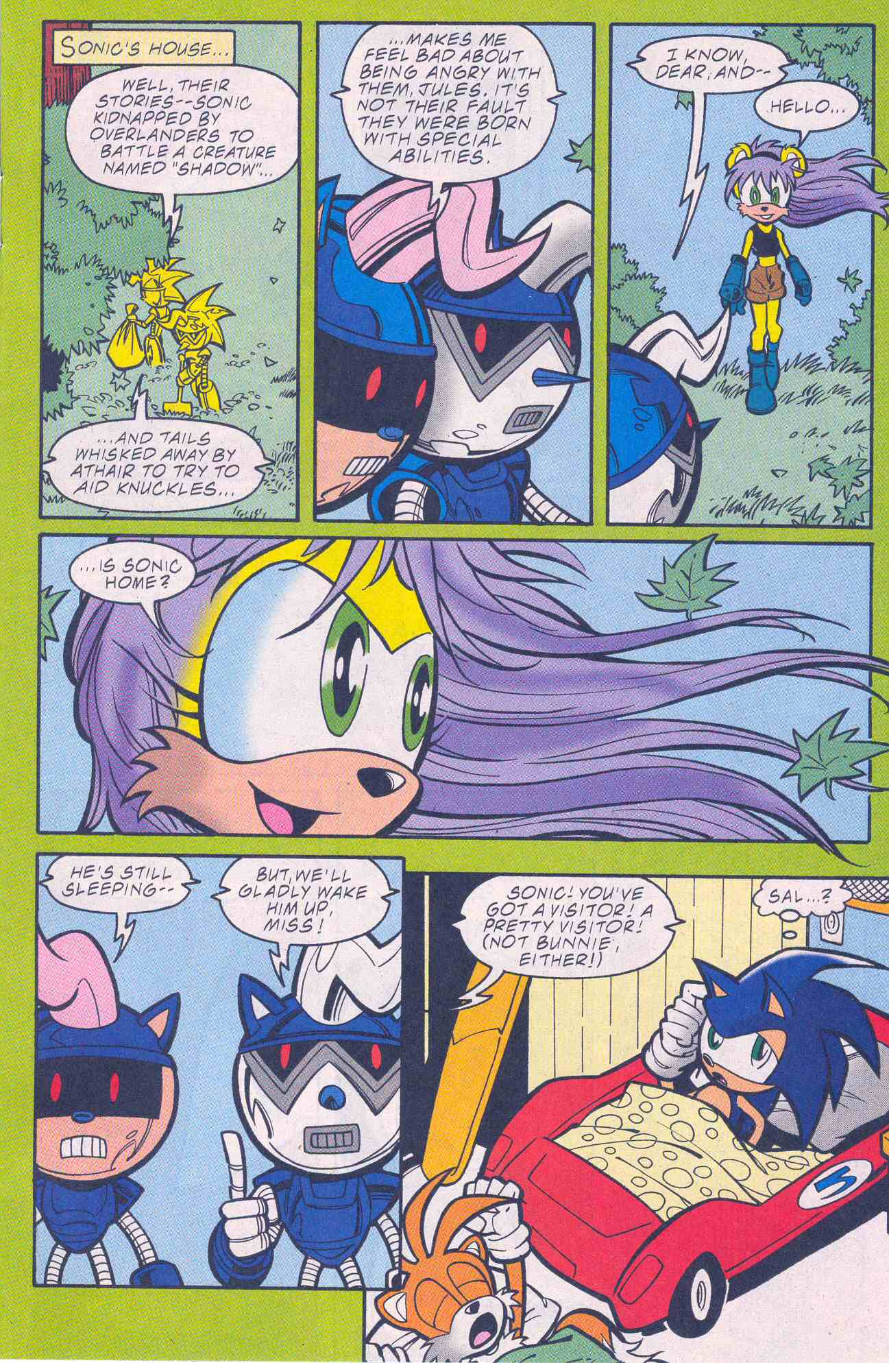 Sonic - Archie Adventure Series August 2001 Page 05