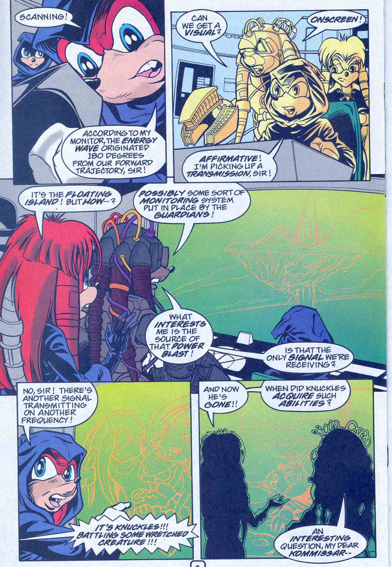 Sonic - Archie Adventure Series August 2001 Page 18