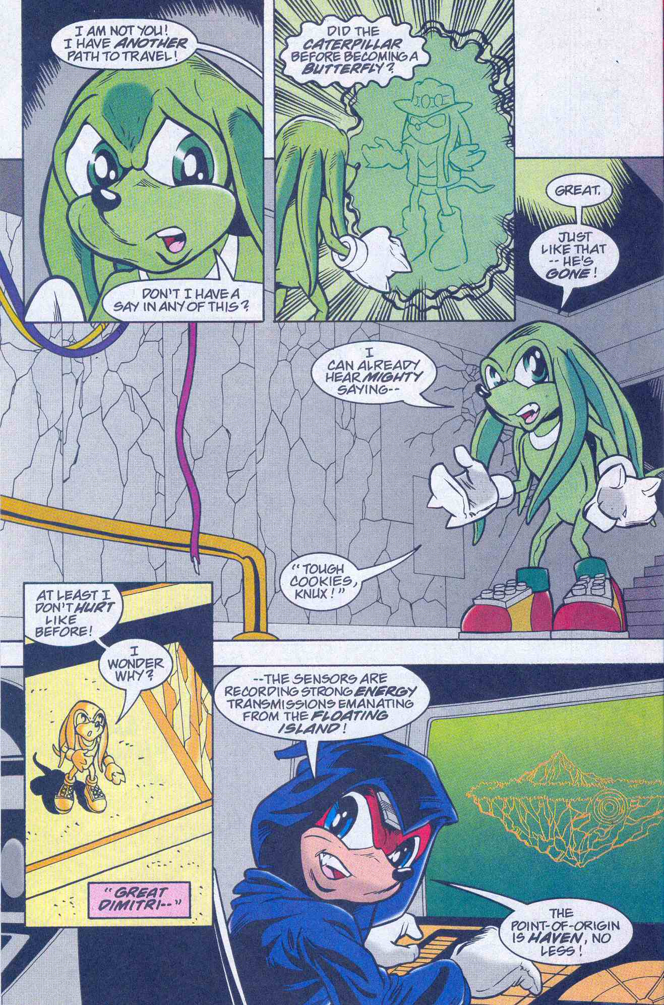 Sonic - Archie Adventure Series August 2001 Page 22