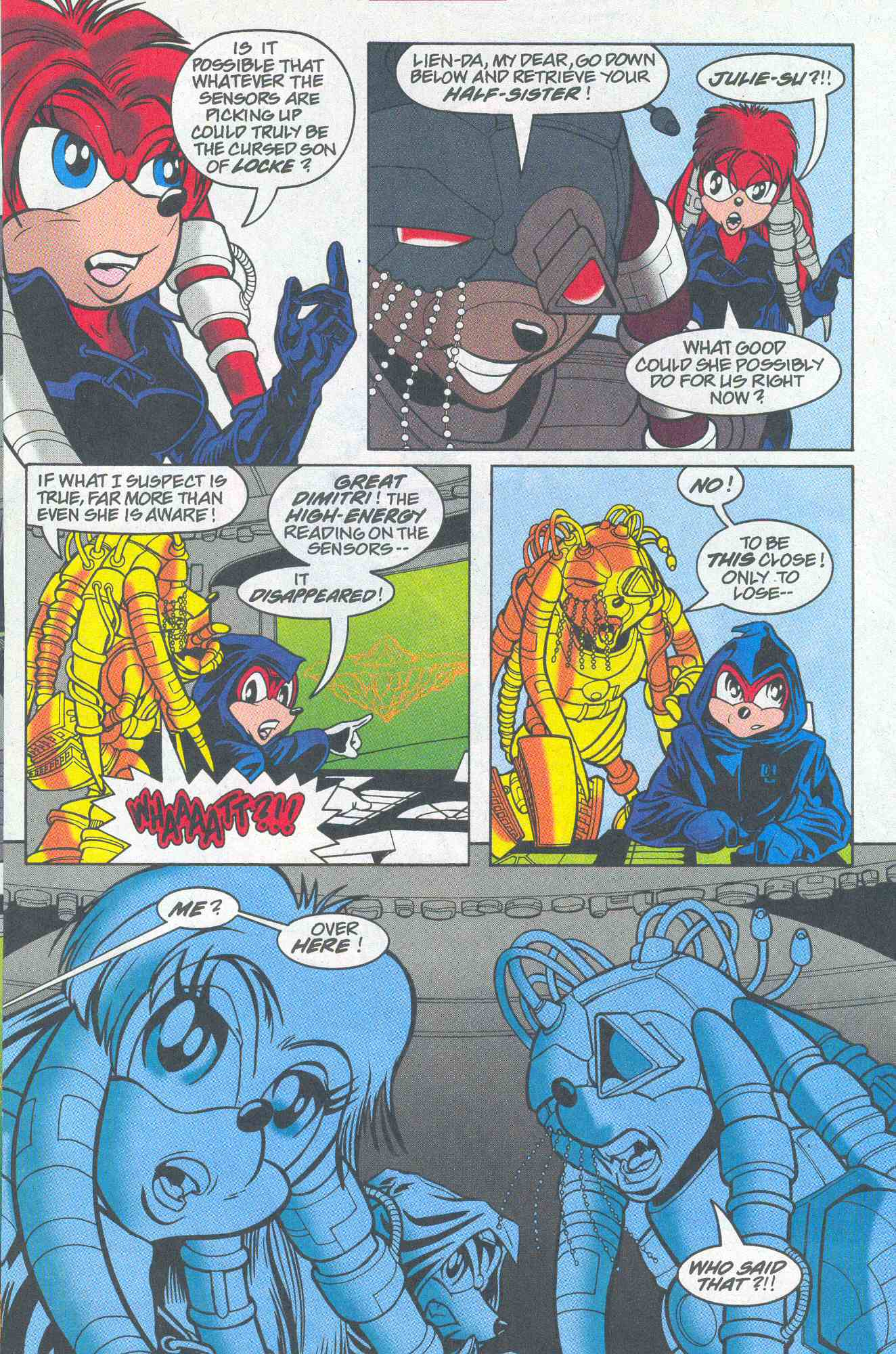 Sonic - Archie Adventure Series August 2001 Page 23