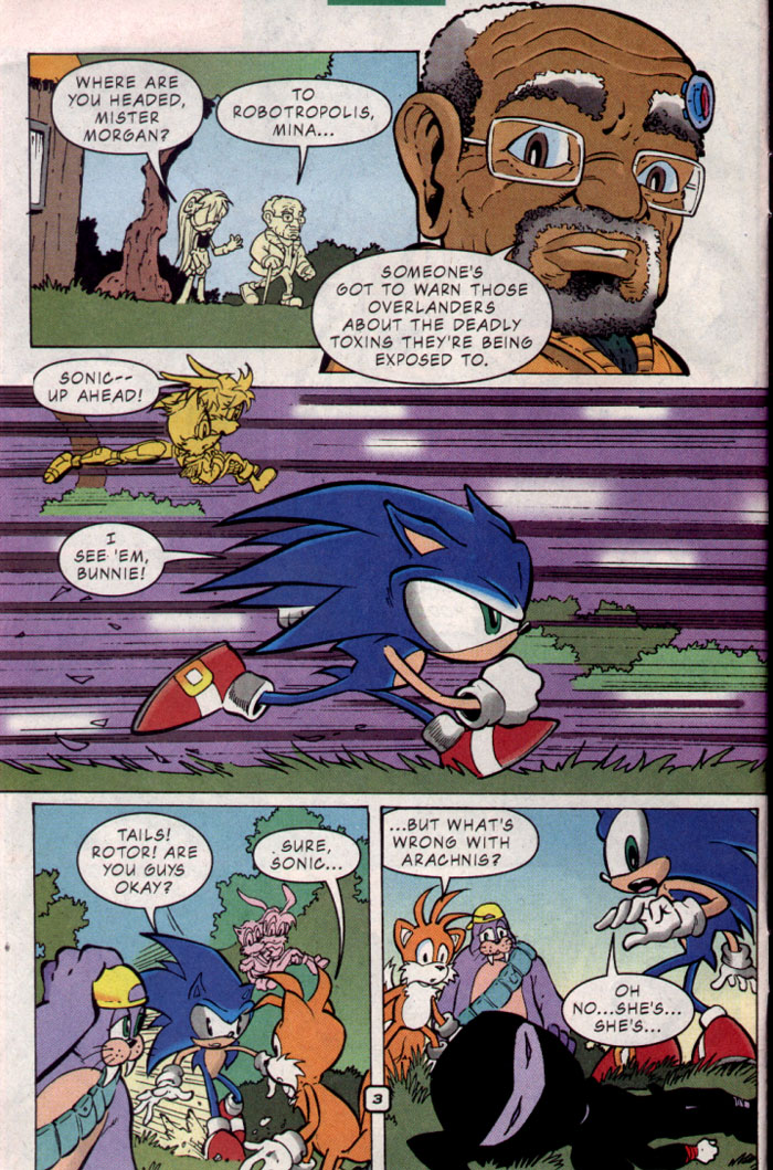 Sonic - Archie Adventure Series October 2001 Page 4