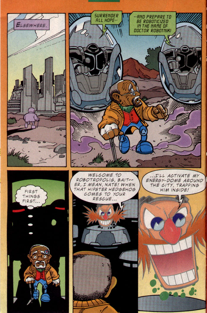Sonic - Archie Adventure Series October 2001 Page 9